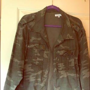 Gently Used Good American Plus size Camo Jacket